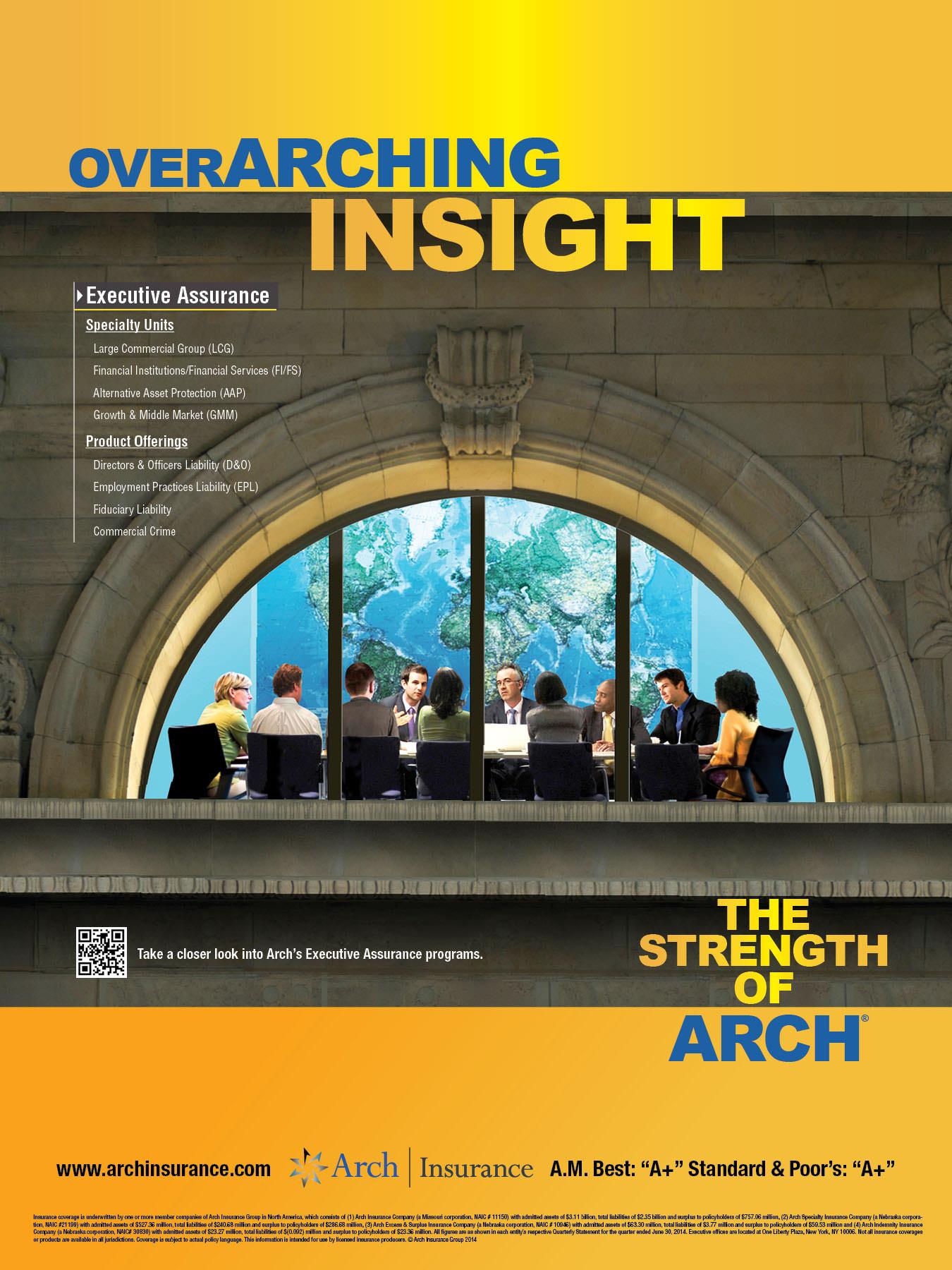 Arch Insurance PRINT-4-Executive Assurance 18x24Poster