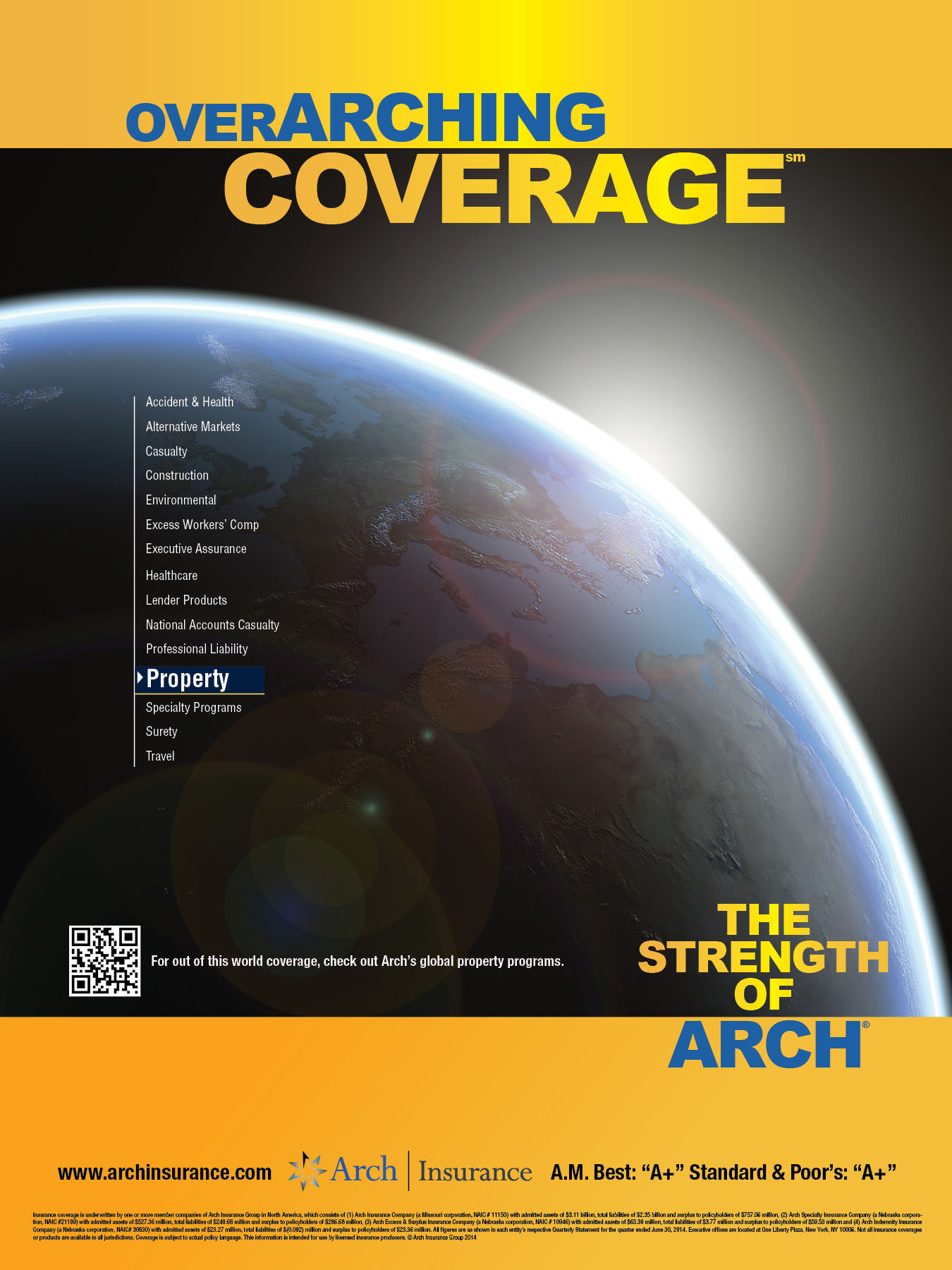 Arch Insurance PRINT-5-Propery 18x14 poster