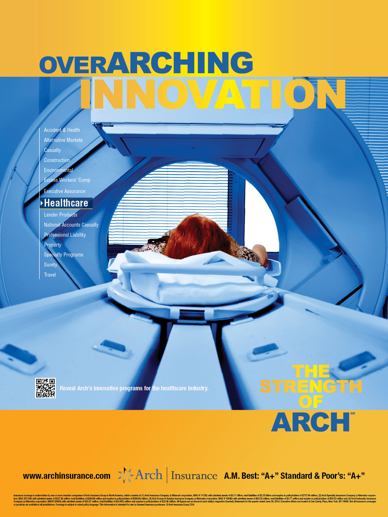Arch Insurance PRINT-7-Healthcare 18x24Poster