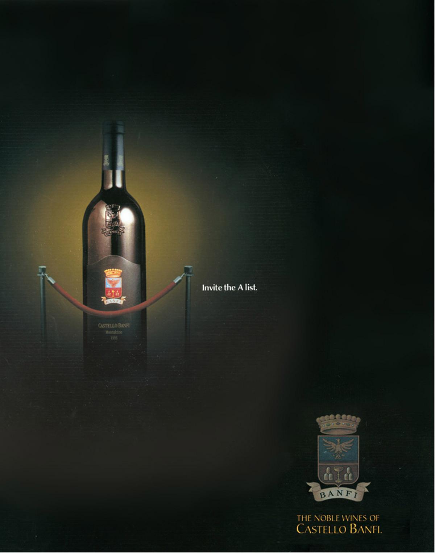 Banfi Wines - PRINT-2-A list