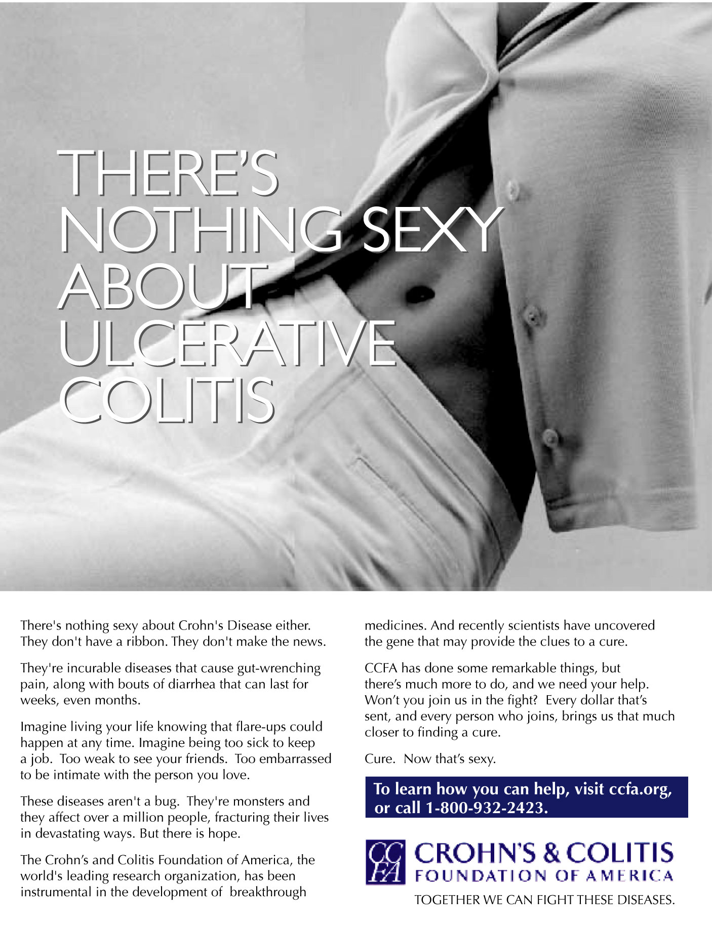 Crohns and Colitis Foundation-PRINT-1 Crohns Colitis Ad