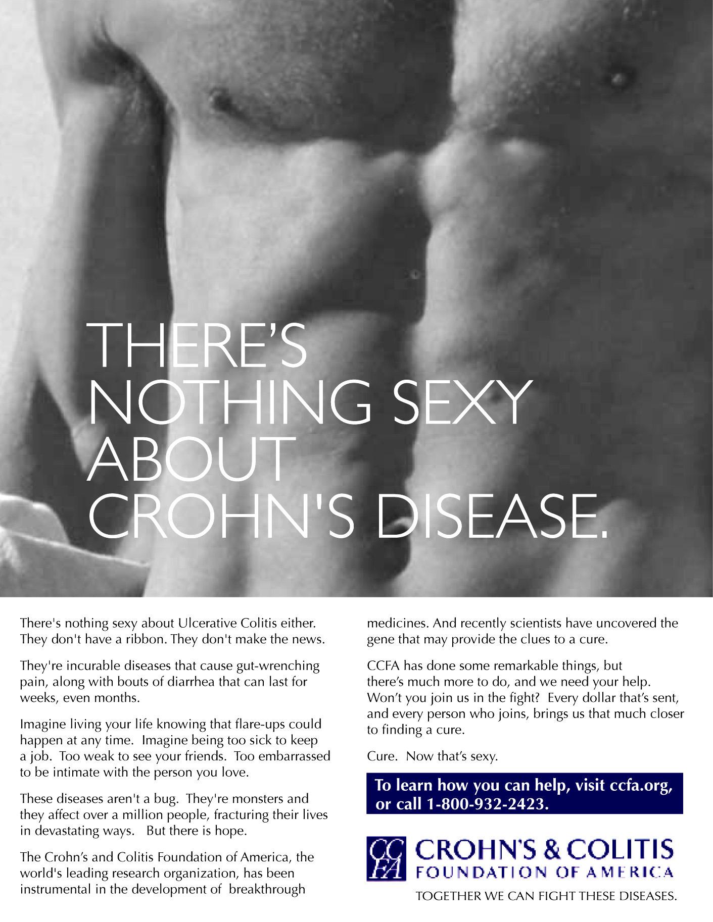 Crohns and Colitis Foundation-PRINT-2 Crohns Colitis Ad