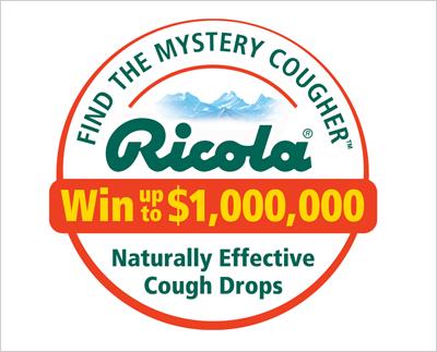 Ricola MC - COLLATERAL DESIGN Cougher Logo